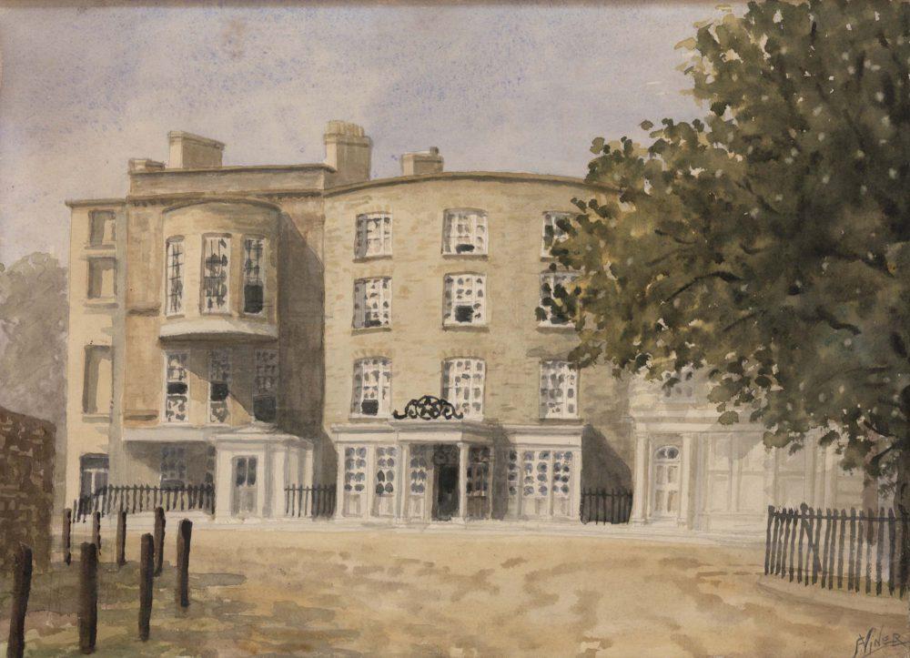 Star and Garter Hotel, Richmond, about 1800