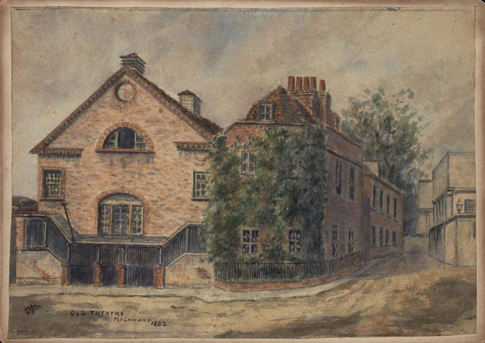 Old Theatre, Richmond 1883