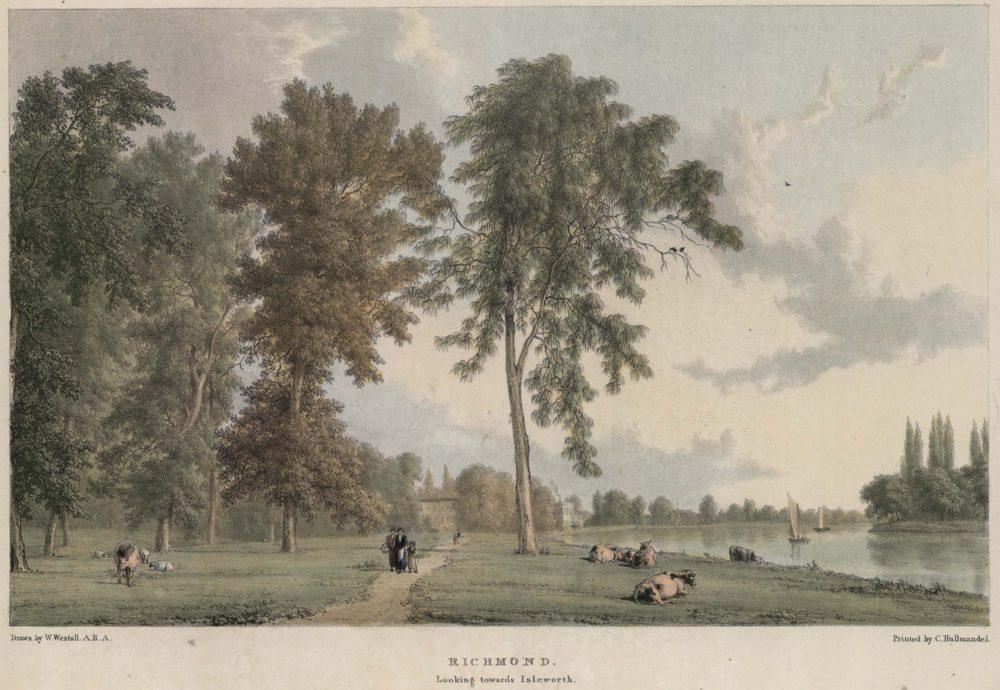Richmond Looking towards Isleworth