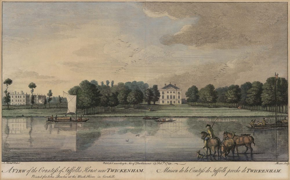 A View of the Countess of Suffolk's House near Twickenham