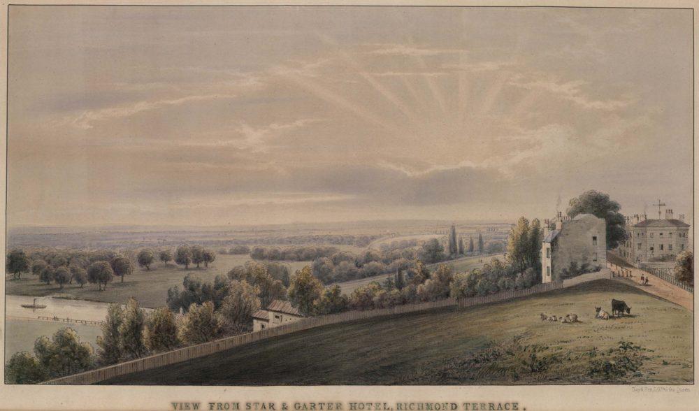 View from Star & Garter Hotel, Richmond Terrace