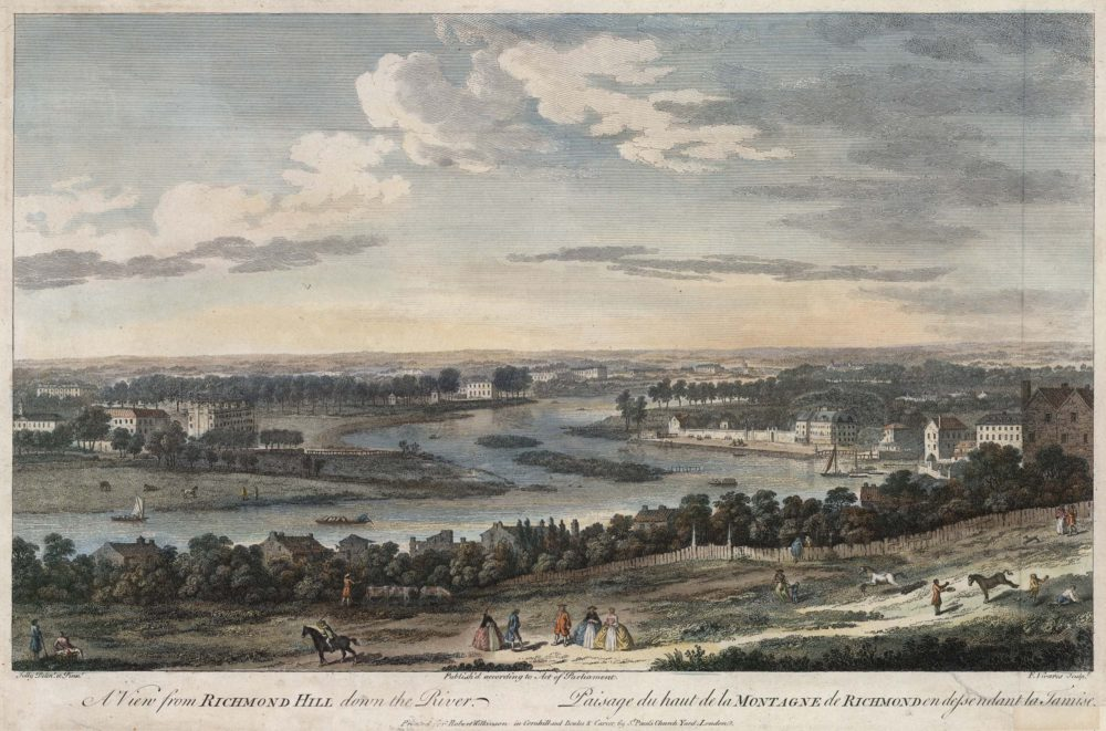 A View from Richmond Hill down the River