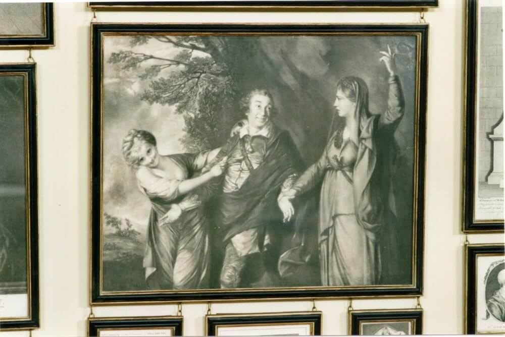 Garrick between Comedy and Tragedy