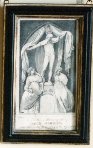 Monument to the Memory of David Garrick