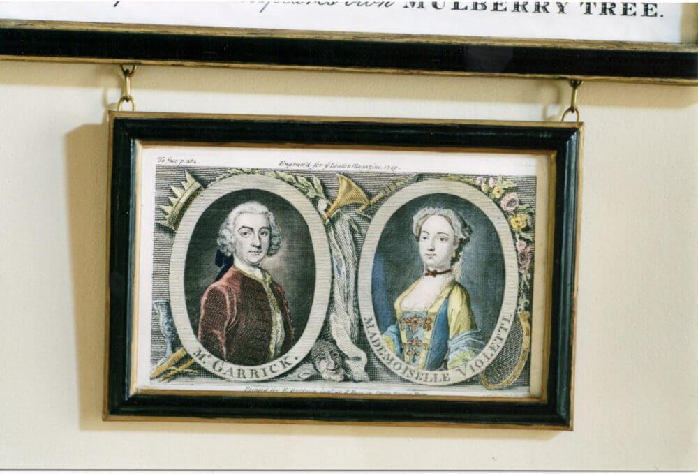 Mr Garrick & Mademoiselle Violetti