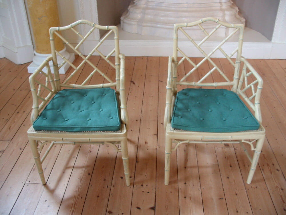 Pair of cockpin chairs