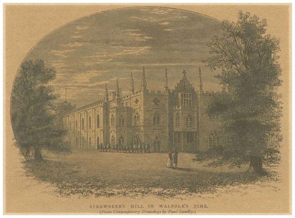Strawberry Hill in Walpole's time