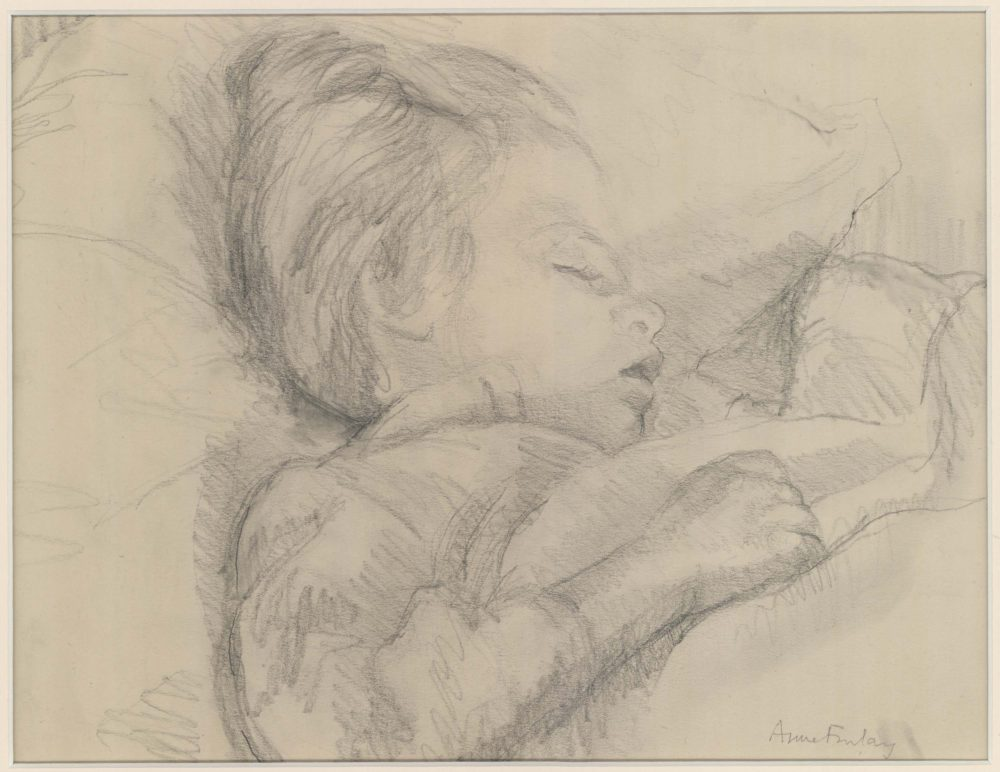 Sleeping Child, Ann Finlay